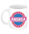 Andrea naam koffie mok beker 300 ml