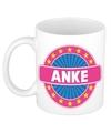 Anke naam koffie mok beker 300 ml