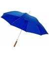 Automatische paraplu blauw 82 cm