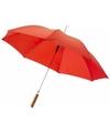 Automatische paraplu rood 82 cm