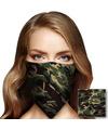 Bandana camouflage voor volwassenen