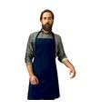 Barbecue keukenschort voor volwassenen navy