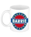 Barrie naam koffie mok beker 300 ml