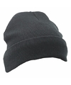 Basic zwarte wintermuts thinsulate voor heren