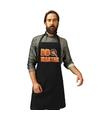 Bbq master barbecueschort keukenschort zwart heren