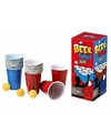 Beer pong set met red en blue cups