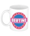 Bertine naam koffie mok beker 300 ml