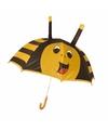 Bijen paraplu voor jongens 45 cm