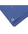 Blauw afdekzeil dekzeil 3 x 4 meter