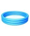 Blauw opblaasbaar mini zwembad