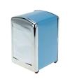 Blauwe servethouder 14 cm