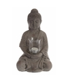 Boeddha met waxinelichthouder 36 cm