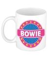 Bowie naam koffie mok beker 300 ml