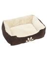 Bruine hondenmand hondenkussen 60 cm