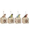 Buiten vogelvoer vetbol in houder 500 gram