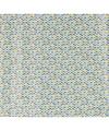 Cadeaupapier driehoekjes blauw groen geel