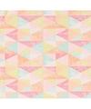 Cadeaupapier pastel driehoeken