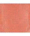 Cadeaupapier rood met witte stippen