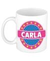 Carla naam koffie mok beker 300 ml