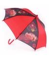 Cars paraplu rood