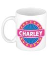 Charley naam koffie mok beker 300 ml