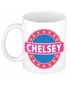 Chelsey naam koffie mok beker 300 ml