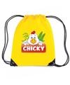 Chicky de kip rugtas gymtas geel voor kinderen