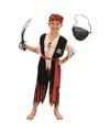 Compleet piraten kostuum maat l voor kinderen