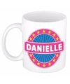 Danielle naam koffie mok beker 300 ml