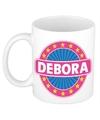 Debora naam koffie mok beker 300 ml