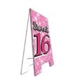 Decoratie bord sweet 16