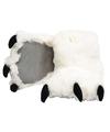 Dierenpoot pantoffels ijsbeer voor kinderen