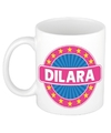 Dilara naam koffie mok beker 300 ml