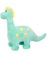 Dino knuffel brontosaurus groen 28 cm