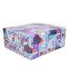 Disney frozen inpakpapier paars blauw 200 x 70 cm op rol