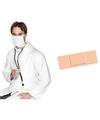 Dokter zuster accessoires set voor volwassenen