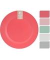 Donker grijs bamboevezel bord 25 cm