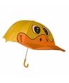 Eend paraplu voor jongens 45 cm