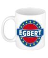 Egbert naam koffie mok beker 300 ml