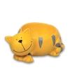 Eierdopje kat poes geel
