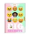 Emoji dagboek met slot