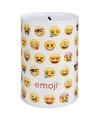 Emoji spaarpot 10 cm type 3