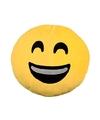 Emoticon kussen lachende smiley 30 cm