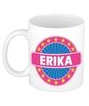 Erika naam koffie mok beker 300 ml
