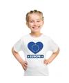 Europa hart vlag t shirt wit jongens en meisjes