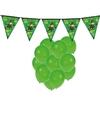 Feestartikelen st patricks day incl ballonnen en feestslinger