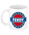 Ferdy naam koffie mok beker 300 ml
