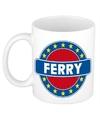 Ferry naam koffie mok beker 300 ml