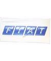 Fiat vlag oud logo 150 x 75 cm