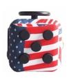 Fidget cube amerikaanse vlag 4 cm